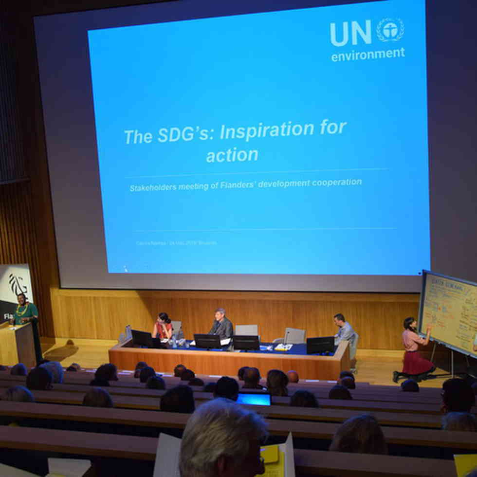 Vlaamse staten-generaal ontwikkelingssamenwerking - Cecilia Njenga, vertegenwoordigster van het VN-milieuprogramma