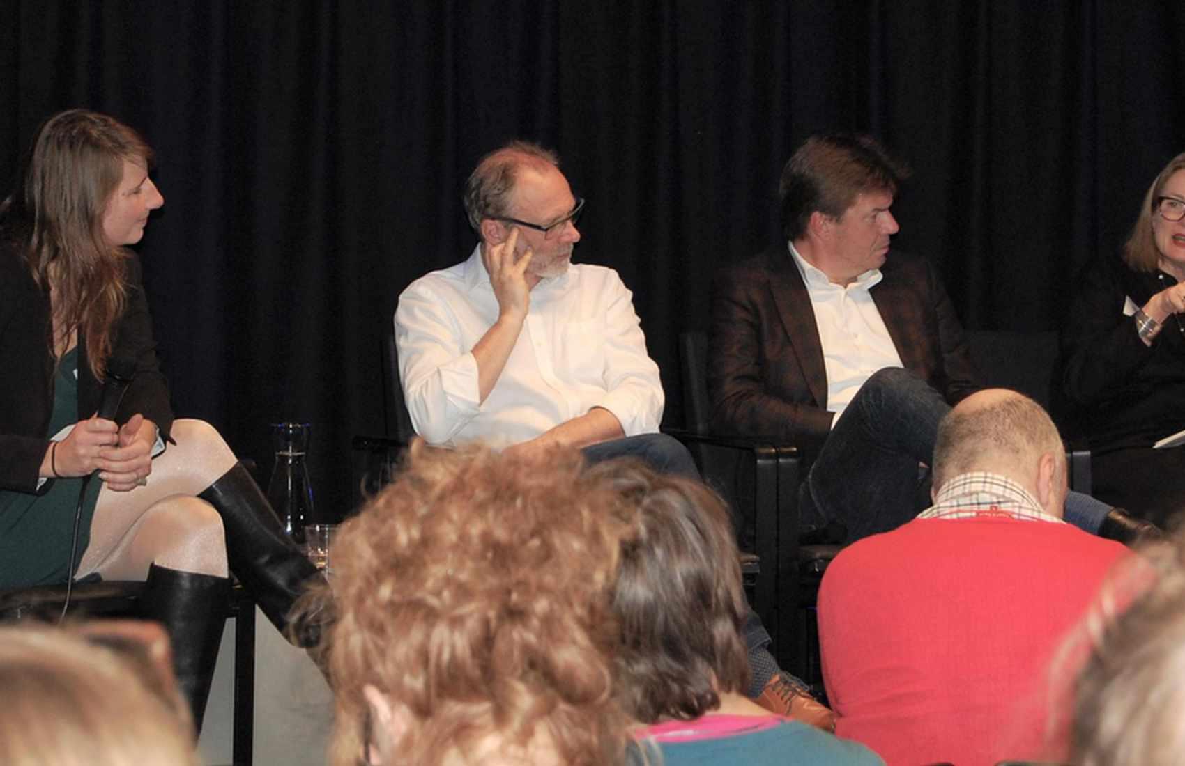 Het panel - Jill Surmont, Piet Van Avermaet, Sven Gatz, Kathleen Heugh