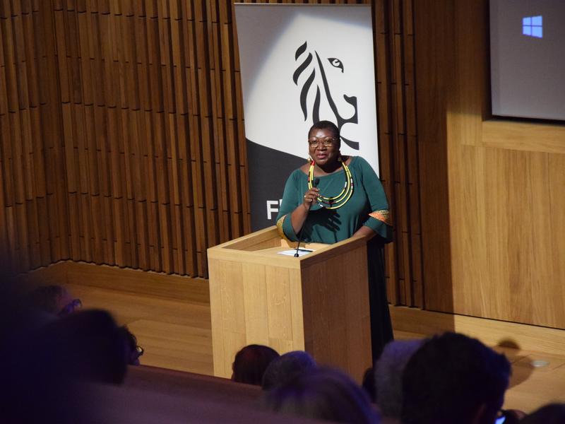 Celia Njenga - Vertegenwoordigster van het VN-Milieuprogramma voor zuidelijk Afrika