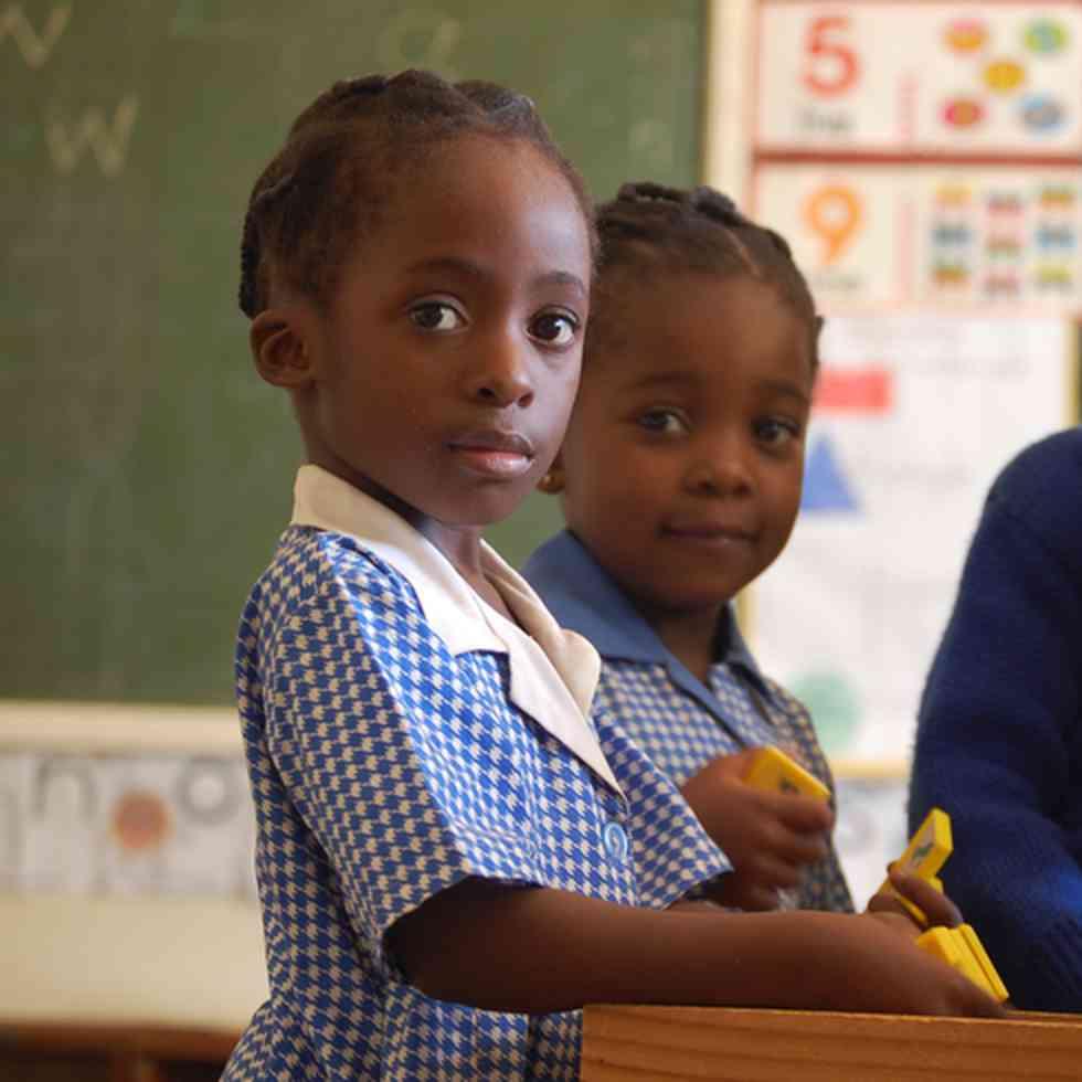 King George VI, een school voor kinderen met een beperking in Zimbabwe