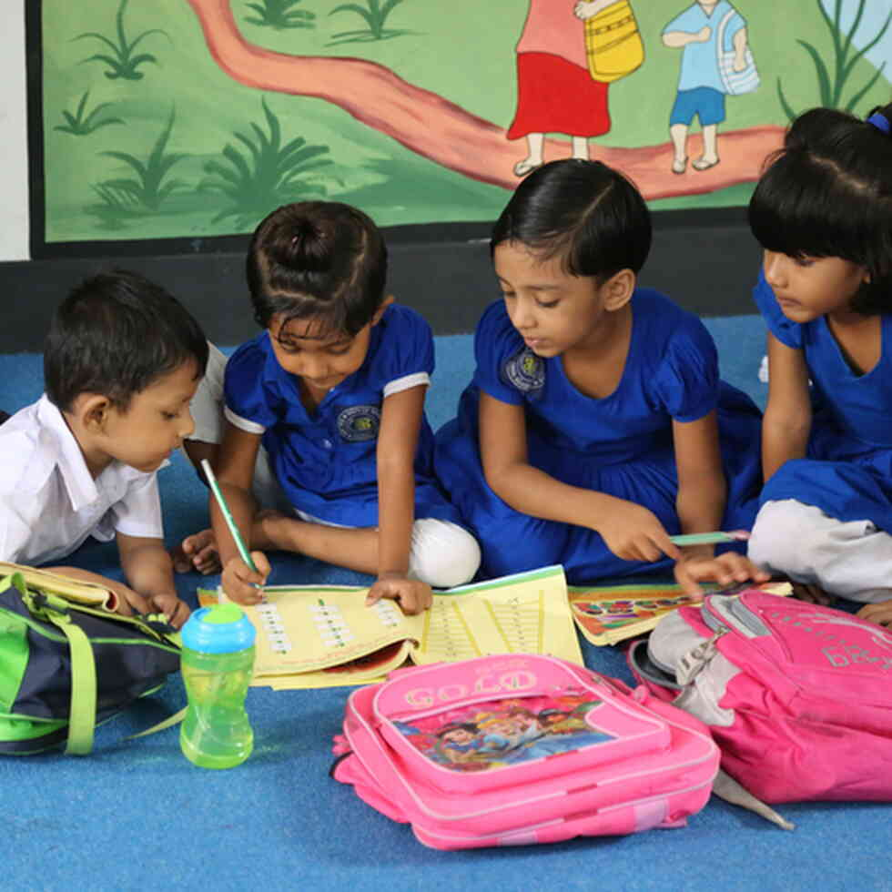 Azimpur Government Primary School. Dhaka, Bangladesh Credit: GPE/Chantal Rigaud