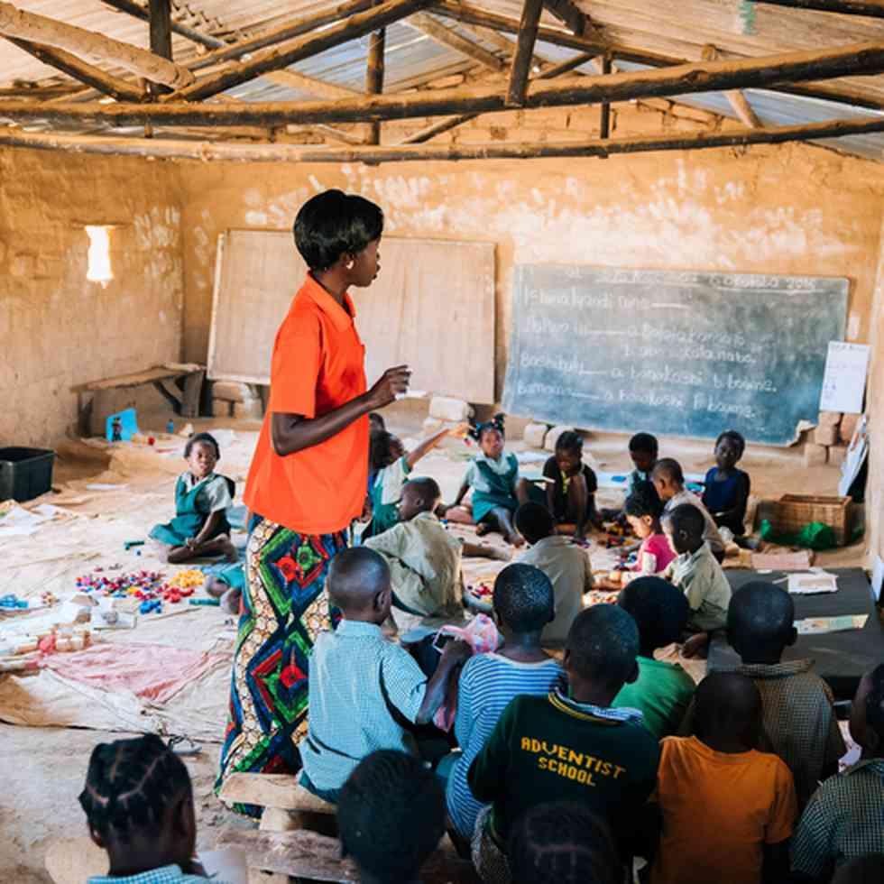 Gemeenschapsscholen in Zambia