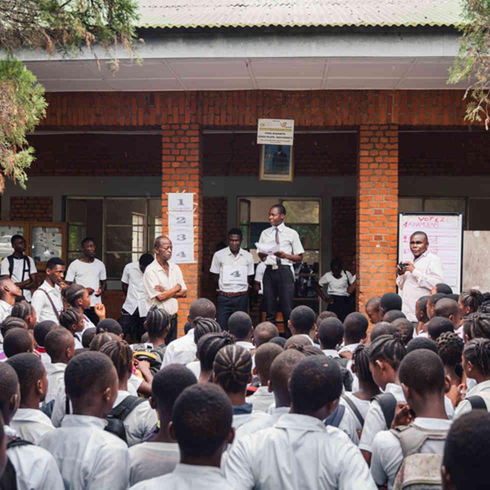Teaching in Congo