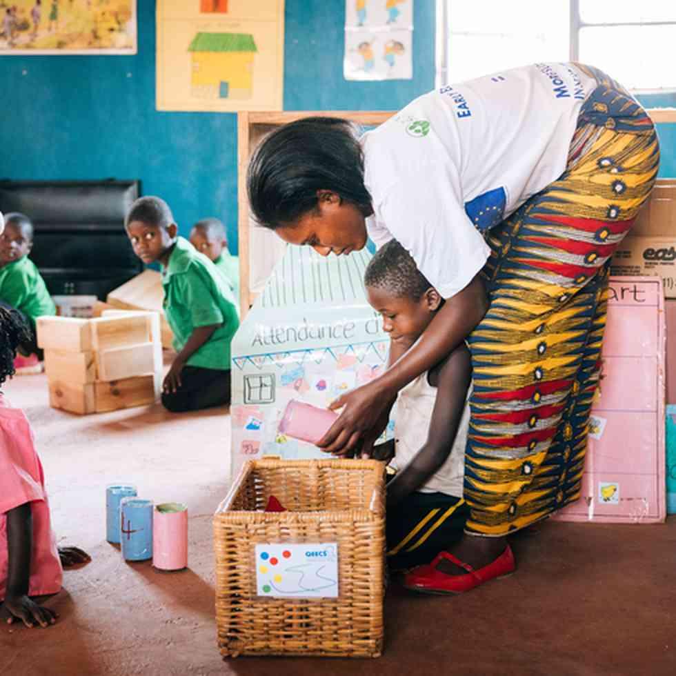 zambia - gemeensschapsscholen
