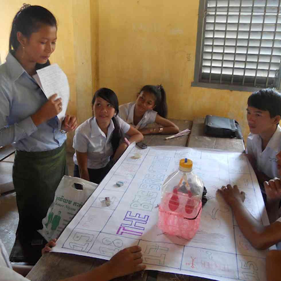 leerlinggericht onderwijs - low cost materials