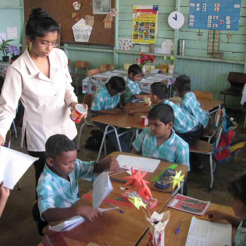 Ik geloof in jou! Ouderbetrokkenheid in Suriname