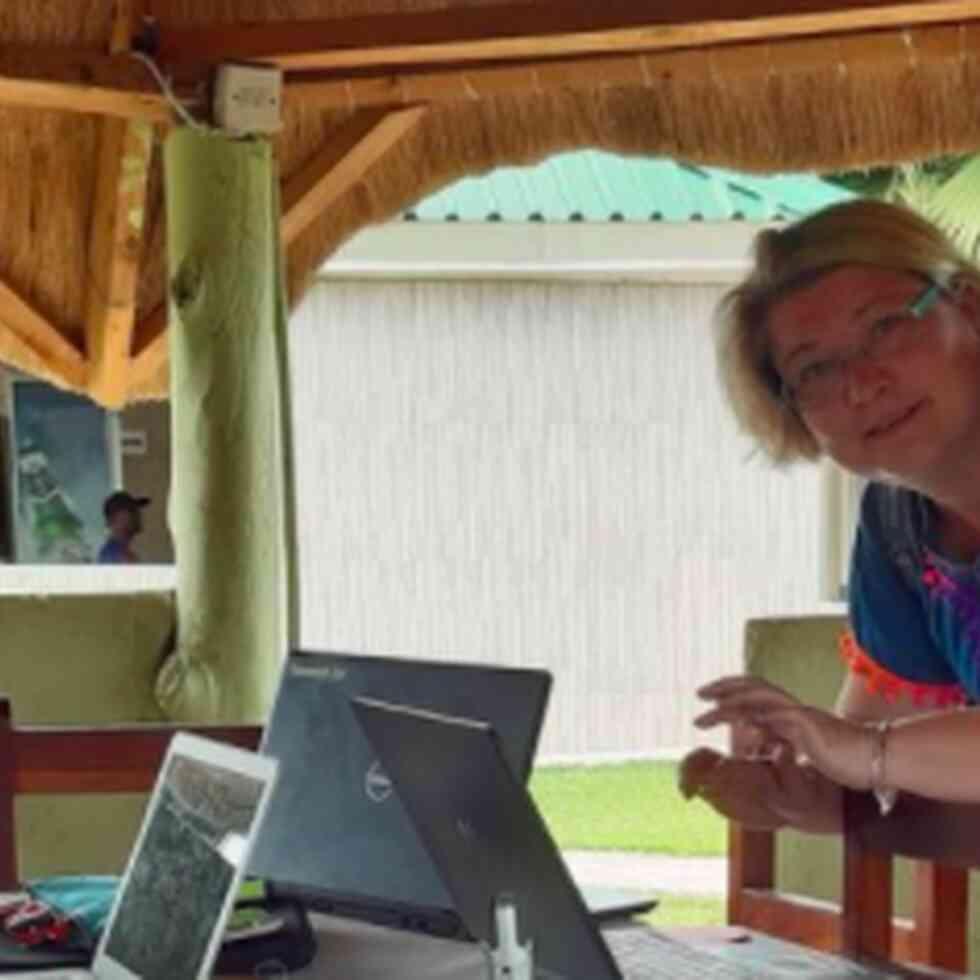 Leen Van Der Stock van Howest in Zambia