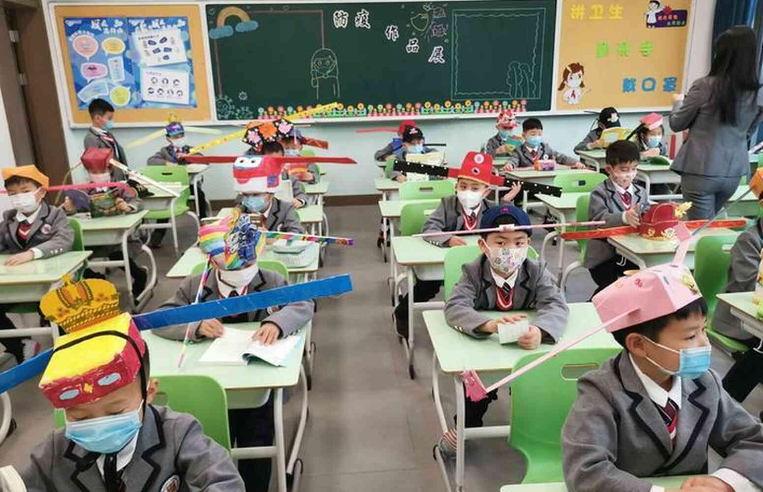 China - hats